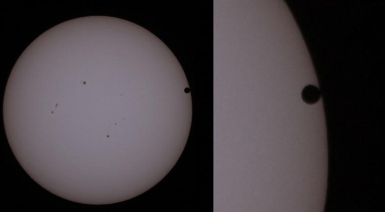 Trânsito de Vênus - 2º Contato