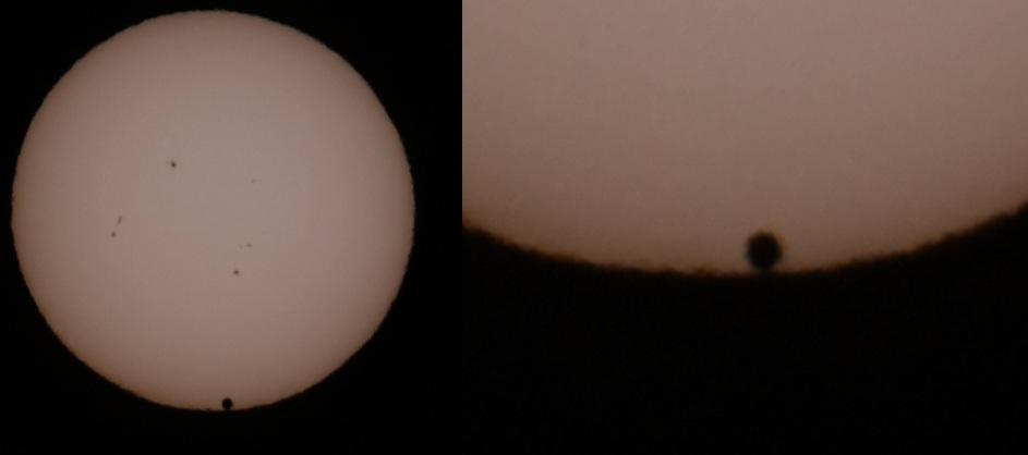 Trânsito de Vênus - 3º Contato