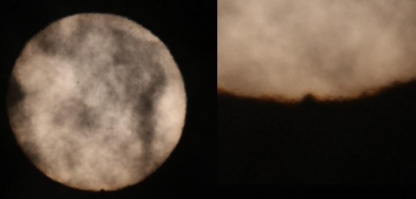 Trânsito de Vênus - 4º Contato