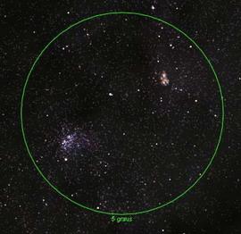 NGC 3532 e Nebulosa da Carina